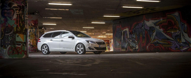 Titelbild Test Peugeot 308 SW