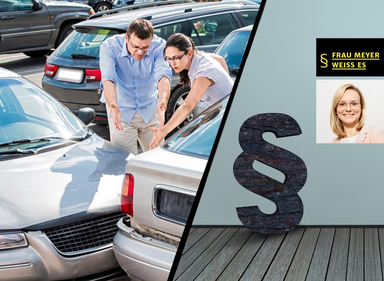 Rargeber Recht: Was tun bei einem Parkplatzrempler?