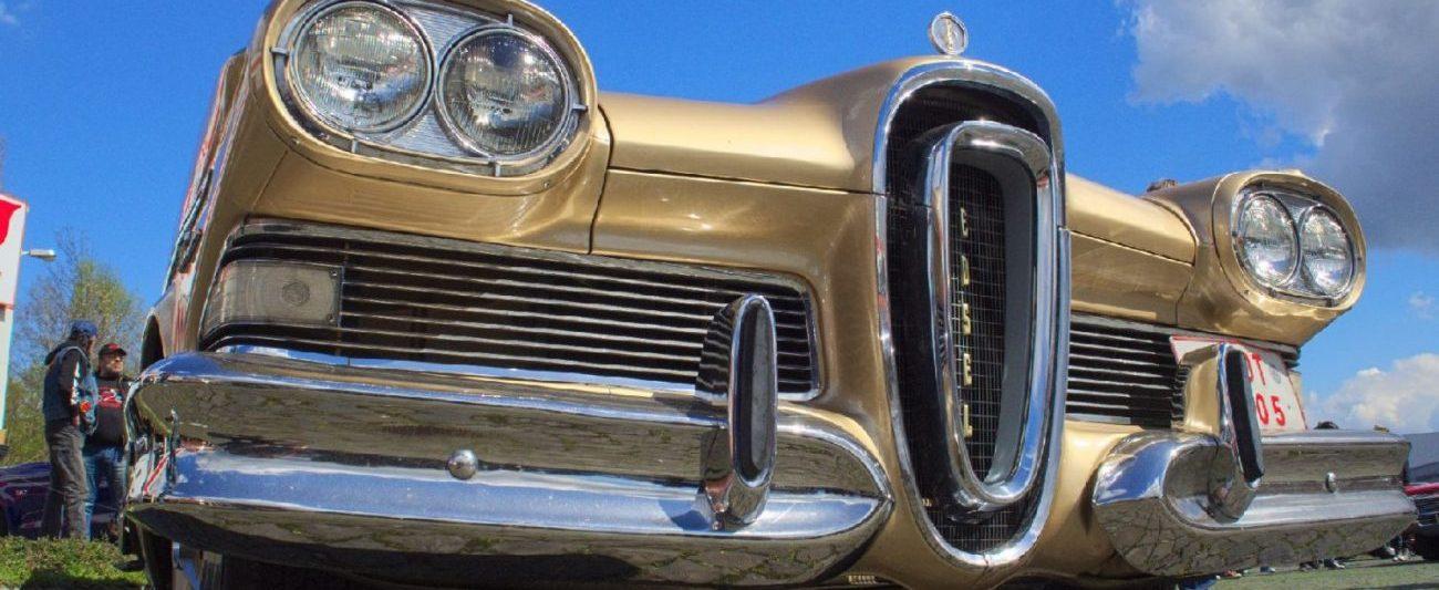 Ford Edsel (Bild: www.edsel.kistinger.com)