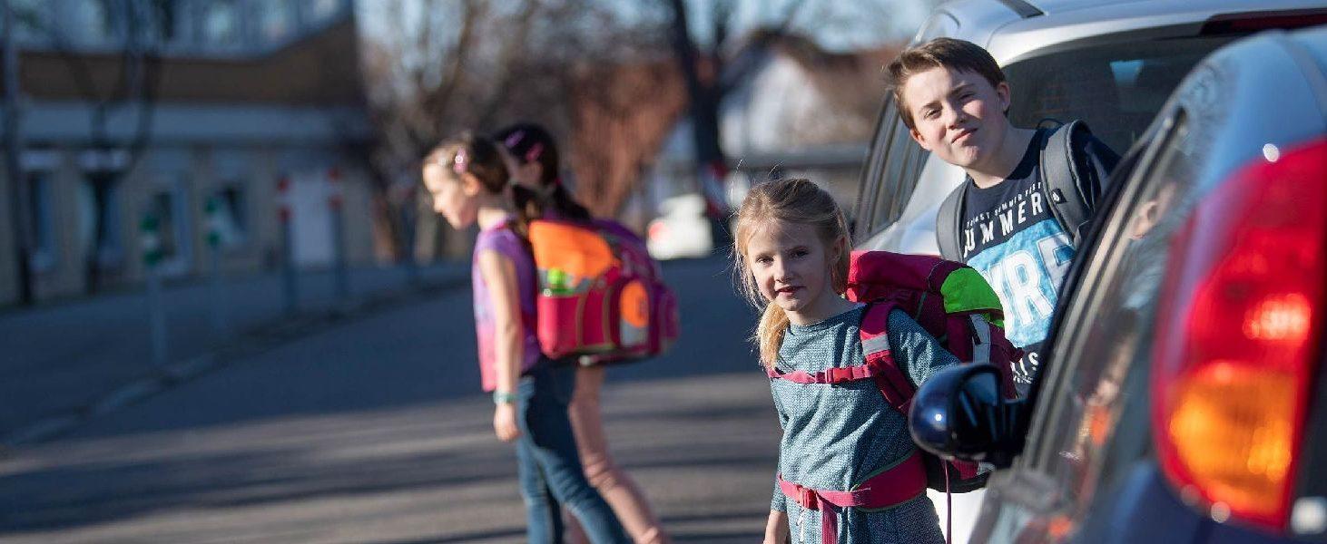 Einfache Schulwege sollte man mindestens sieben Mal abgehen, schwierigere mindestens doppelt so oft. (Foto © Kienzle/ACE Auto Club Europa)