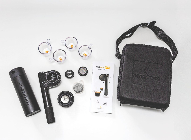 Gadget-Test: Damit lässt sich Kaffee sogar im Auto kochen. Allerdings ist das Handpresso Pump Set nichts für zittrige Hände.