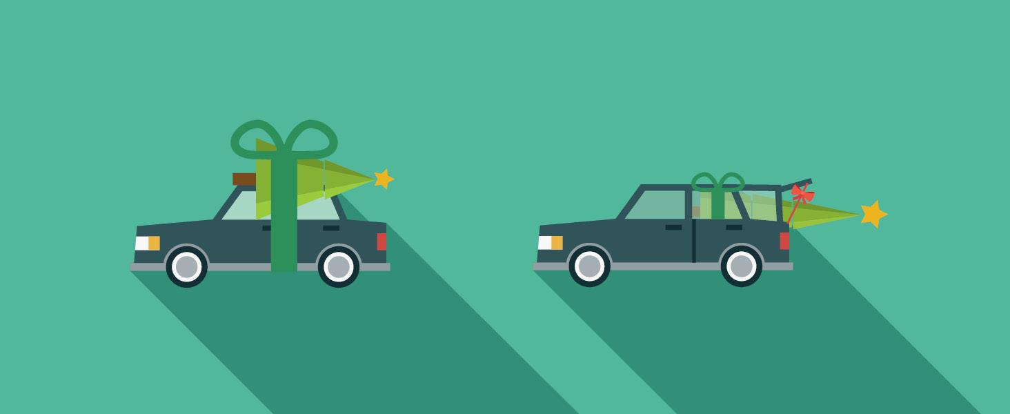 How to: Weihnachtsbaum transportieren
