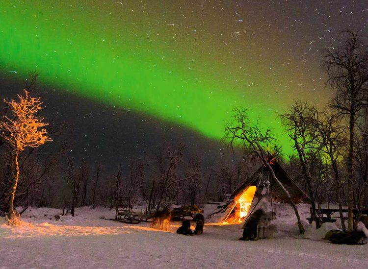 lappland schweden nordlichter immer eine Reise wert