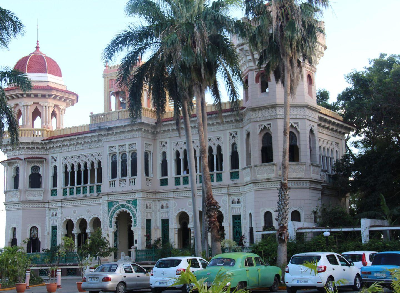 Maurischer Palast eines Barons in Cinfuegos als Touristenattraktion