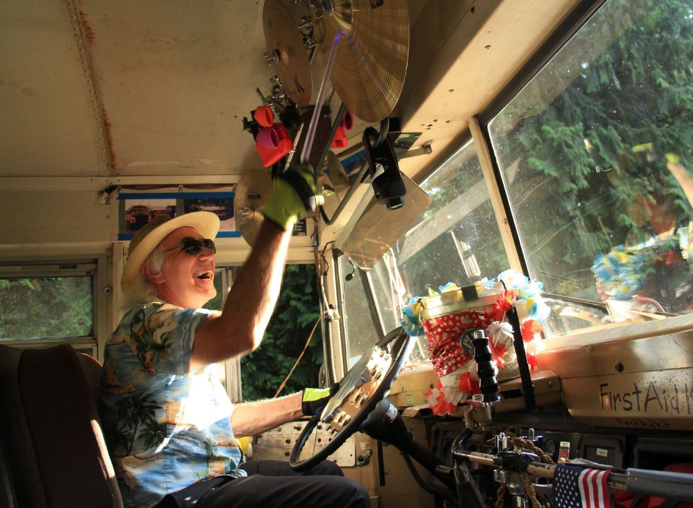 Busfahrer Hummingbird Tommy Transit Britis Columbia