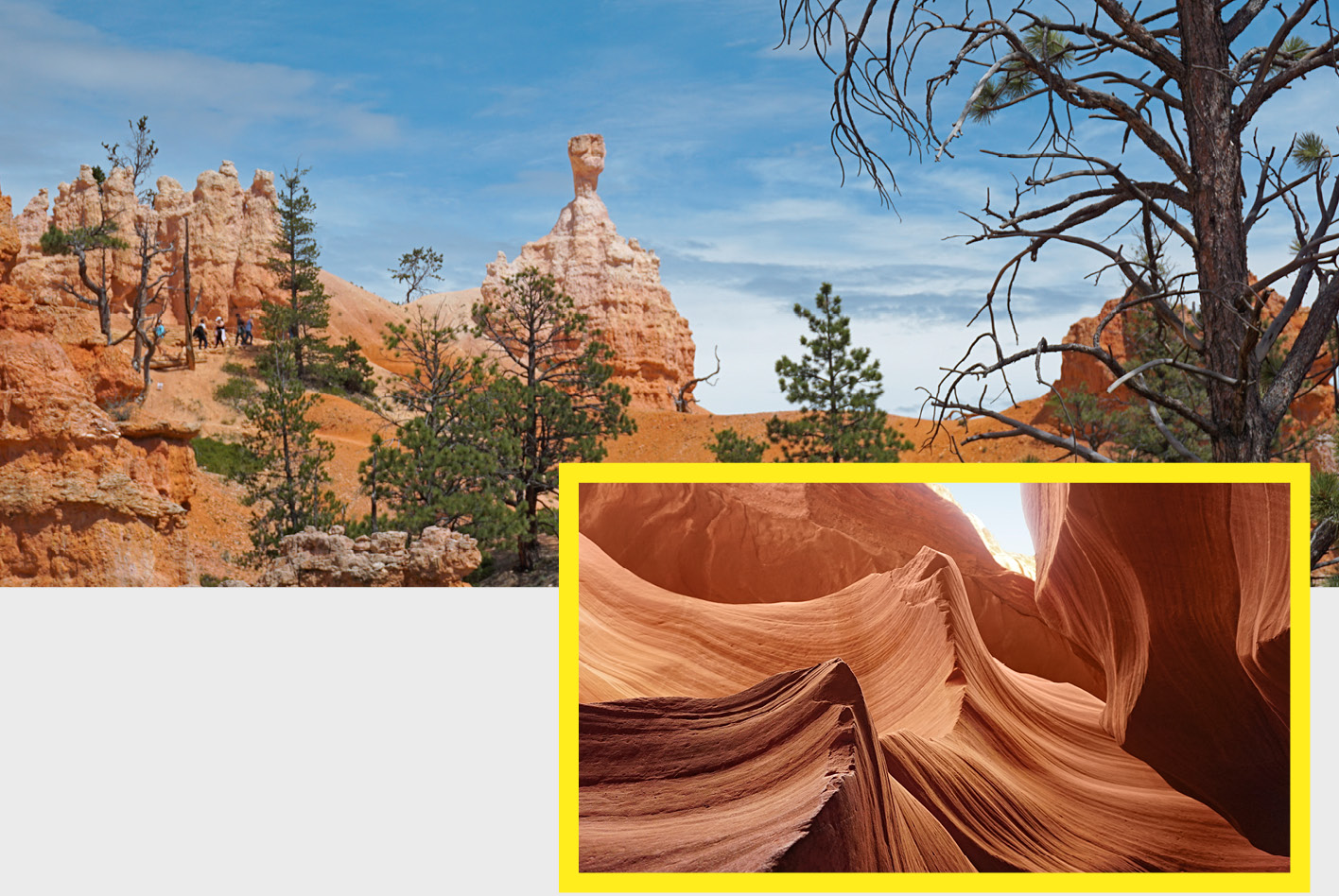 USA-Southwest-Roadtrip: Hoodoos im Bryce Canyon National Park