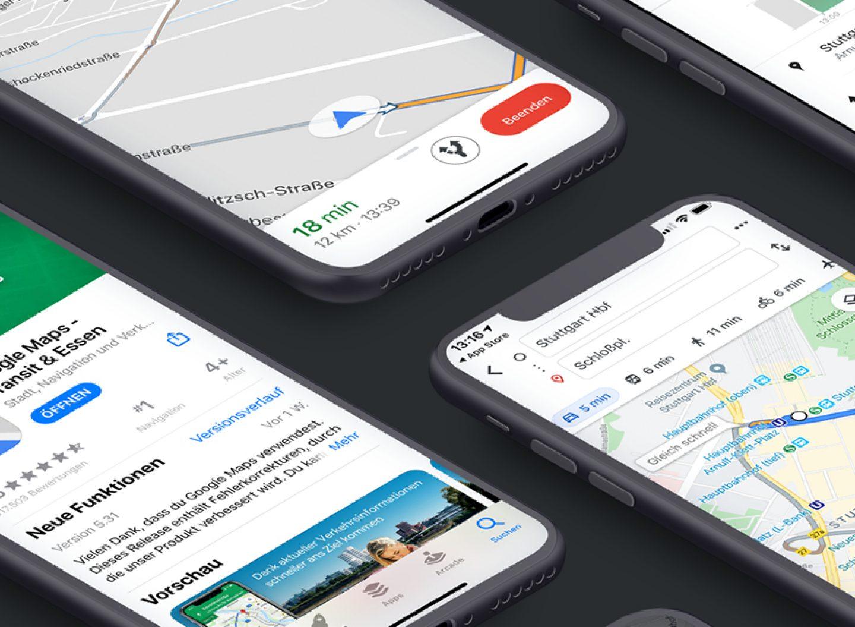 """Viele Wege führen nach Rom. Und viele unterschiedliche Apps können sie mir zeigen. In den Beiträgen zu Navi-Apps der motus-Serie """"Apps im Vergleich"""" ist der Weg das Ziel."""