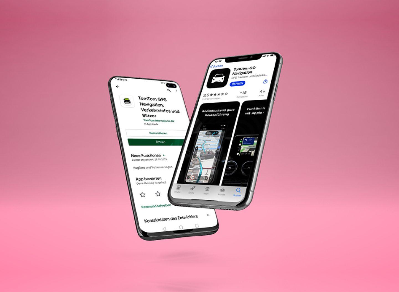 """Viele Wege führen nach Rom. Und viele unterschiedliche Apps können sie mir zeigen. In den Beiträgen zu Navi-Apps der motus-Serie """"App-Vergleich """" ist der Weg das Ziel."""