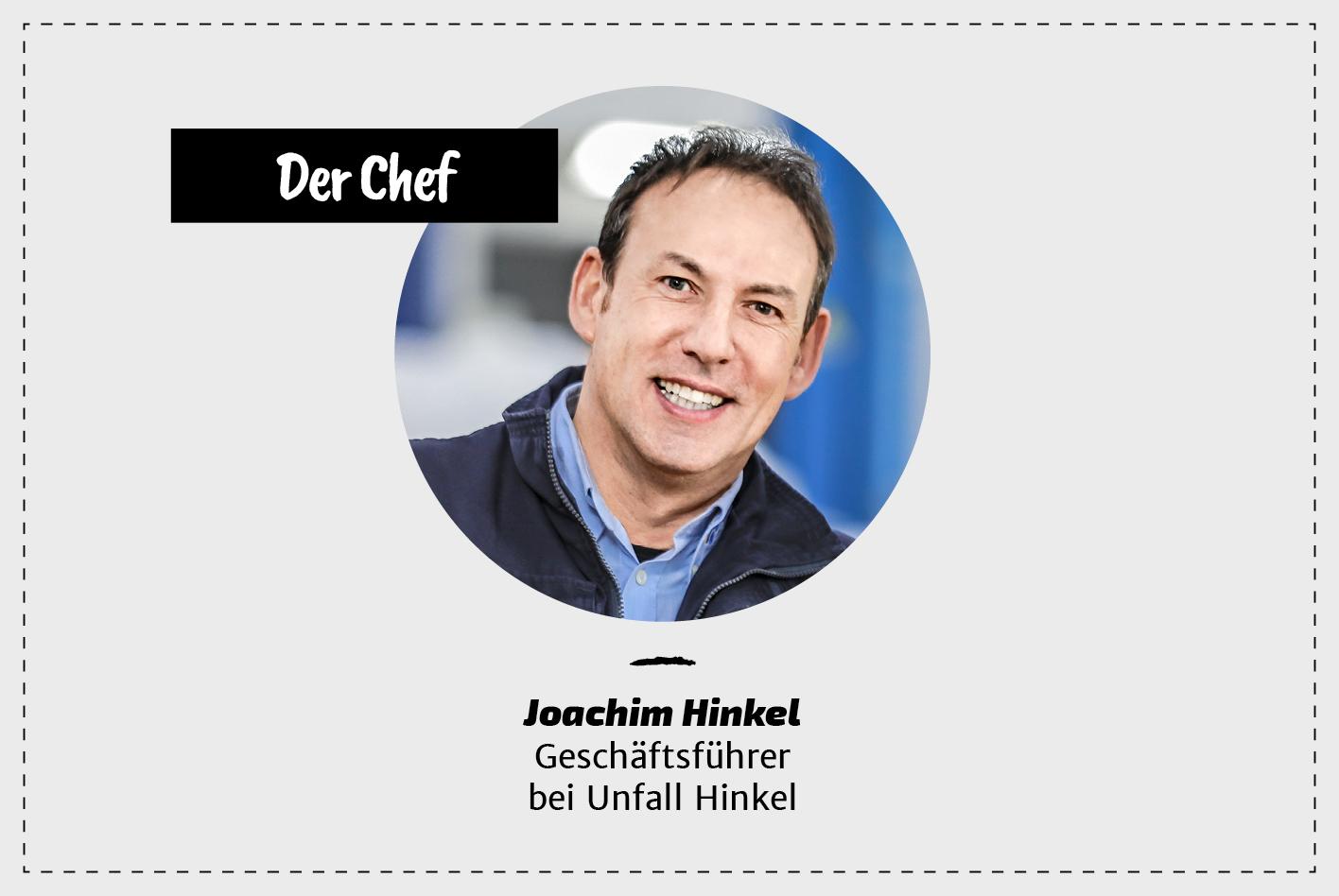 Chef Unfall Hinkel