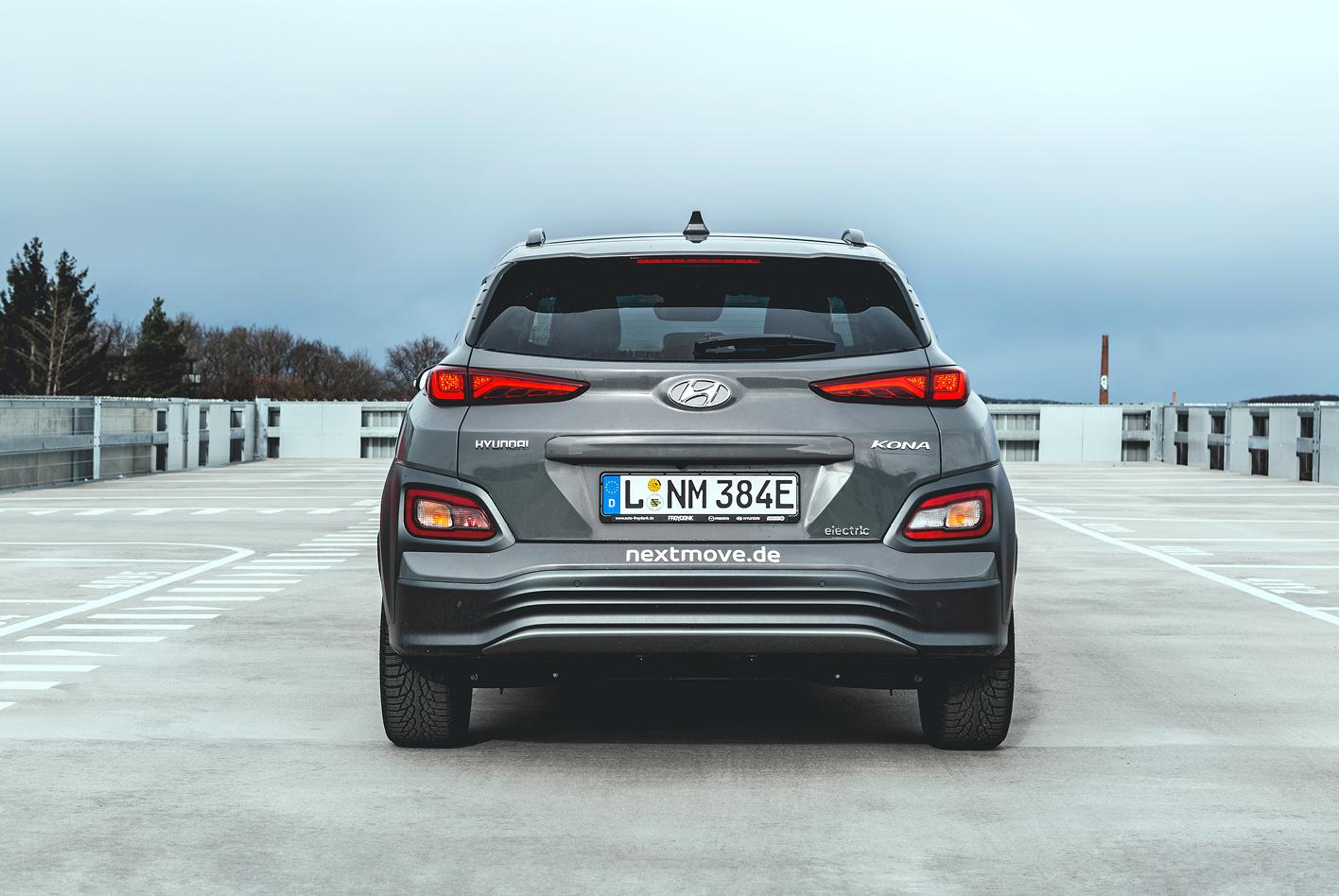 Eindrücke meiner Testfahrt mit dem Hyundai Kona: Heck