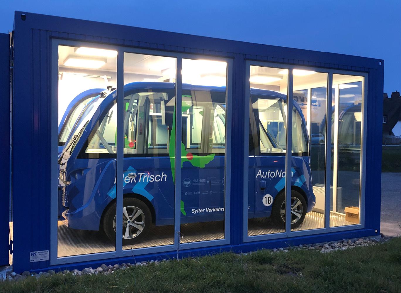 Die beiden NAF-Busse in Enge-Sande und Keitum haben schon mehr als 10.000 Fahrgäste befördert.