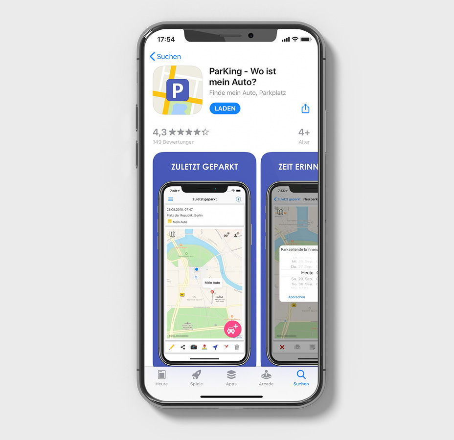 Park-App PArKing im App Store (Android)
