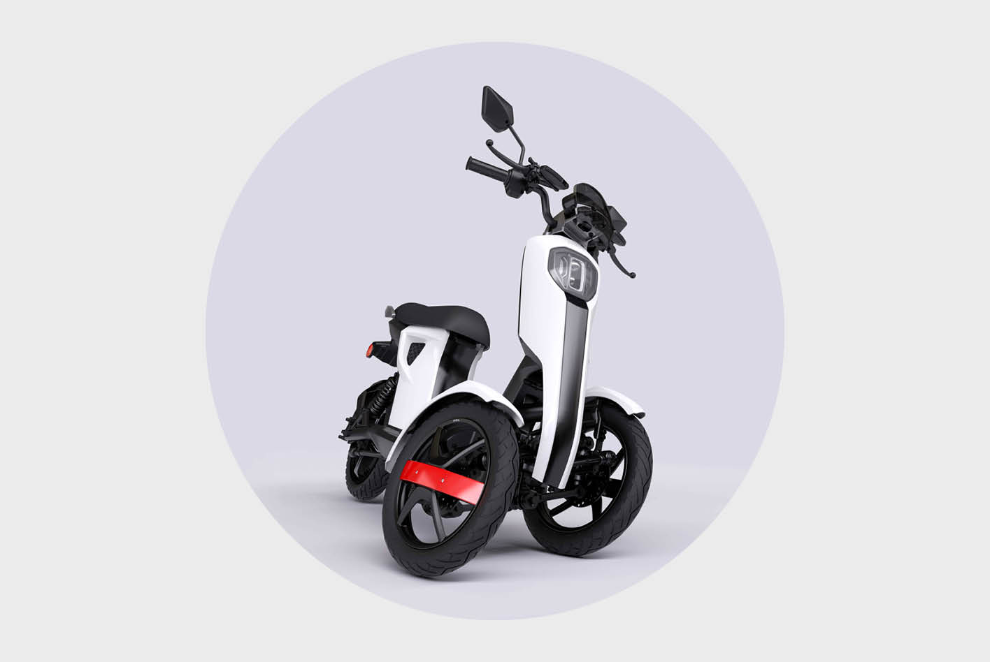 Dreirad-Roller im Vergleich: der iTango von Doohan.