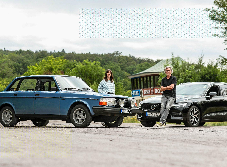 Volvo-Vergleich: alt gegen neu