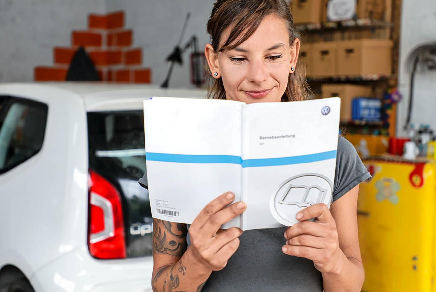 Auto-Beleuchtung: Infos im Bordbuch