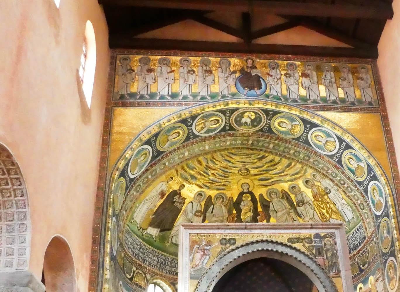 Ein Muss: die Euphrasius-Basilika, die Kathedrale des kroatischen Bistums Porec-Pula.