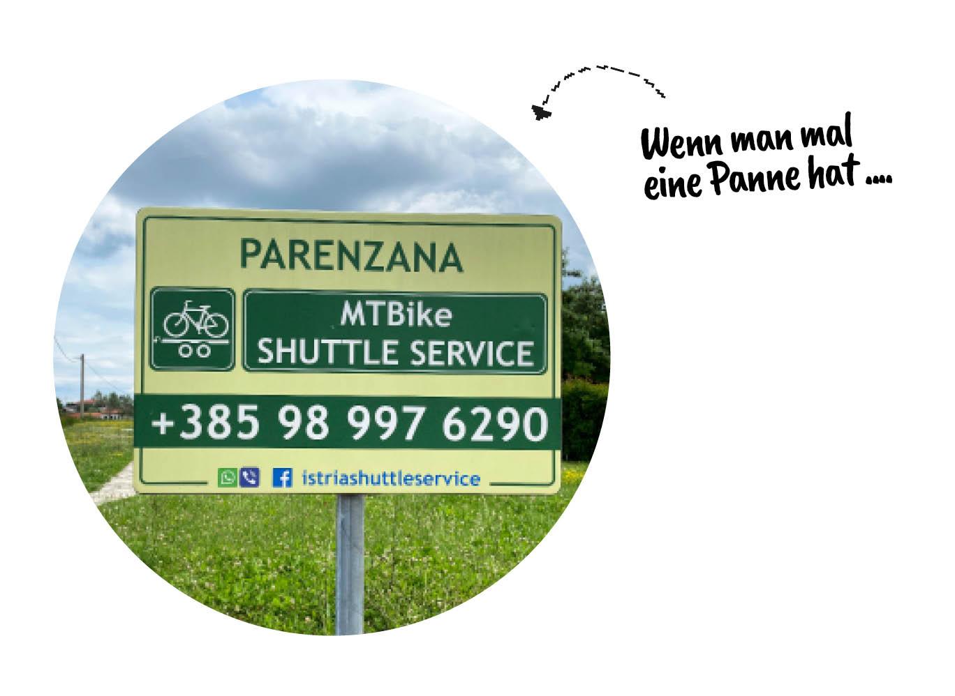 Parenzana: Wenn man mal eine Panne hat ...