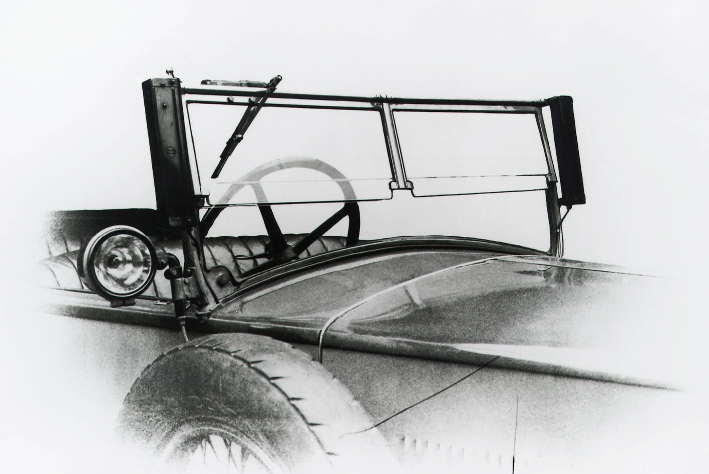 Historisches Scheibenwischer-Bild