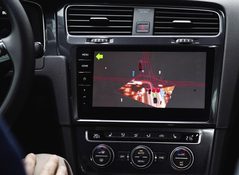 Autonomes Fahren ist in Deutschland derzeit noch nicht erlaubt. Bild: VW