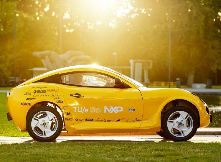 Luca ist das erste Elektroauto, das komplett aus recyceltem Müll besteht. Bild: Bart van Overbeeke Fotografie