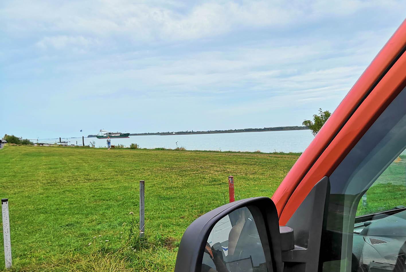 Mit dem Wohnmobil an der Elbe