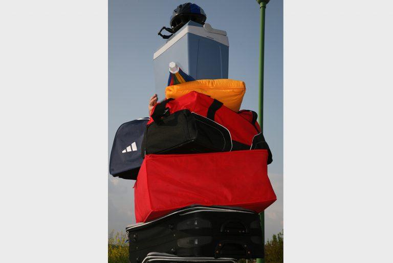 Das richtige Packen ermöglicht eine einfachere Beladung.
