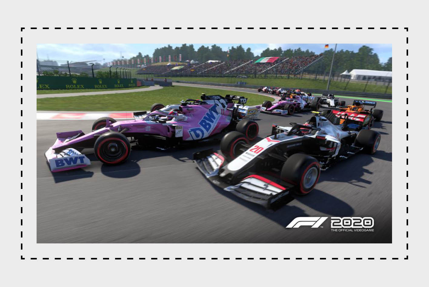 F1 2020 macht Fans von Racing-Games zu Fahrern und Teammanagern und über-zeugt mit einem realistischen Rennerlebnis.