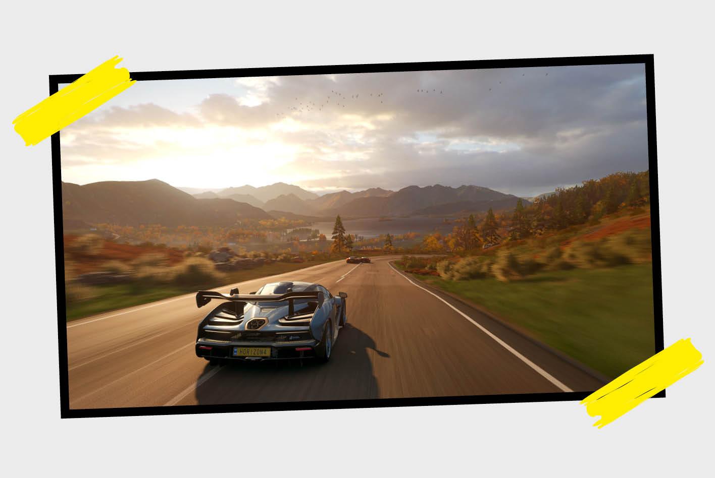 Forza Horizon 4 ist ein Racing-Game, das Rennsimulation und Arcade-Feeling vereint.