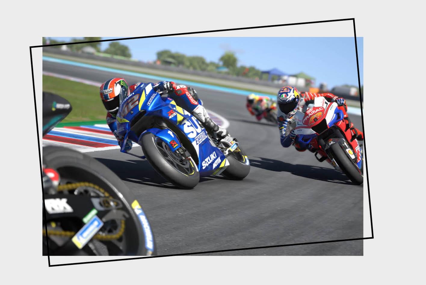 Das Racing-Game MotoGP 20 fordert selbst erfahrene RacingSim-Fans.