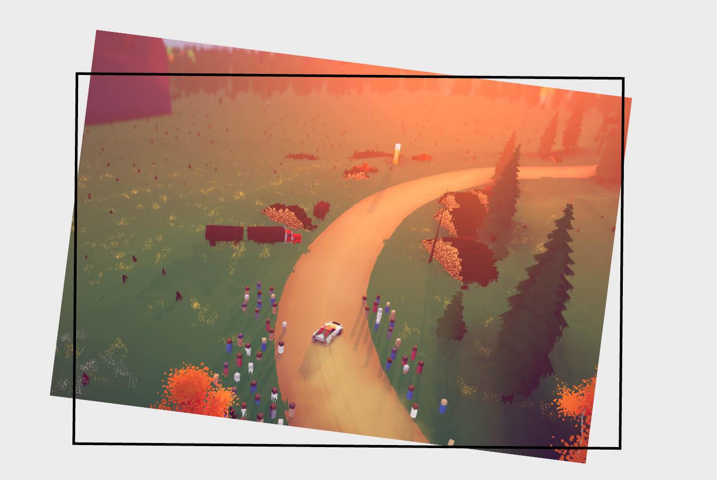 Mit dem Racing-Game art of rally können Rallye-Begeisterte in die virtuelle Welt des Rallye-Sports eintauchen.
