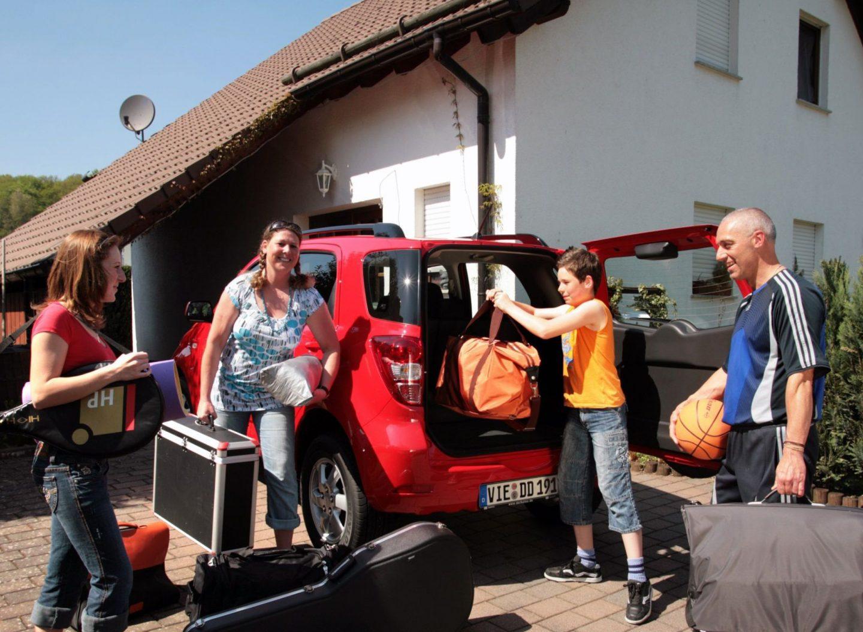 Auto nach dem Urlaub aufräumen